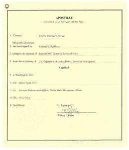 apostille cover letter